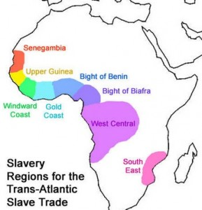 slave regions